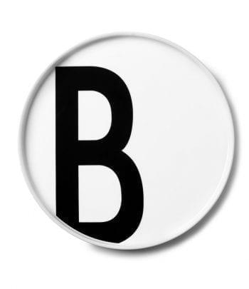 צלחת פורצלן B