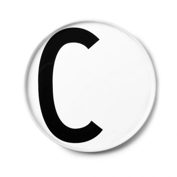 צלחת פורצלן C
