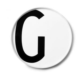 צלחת פורצלן G