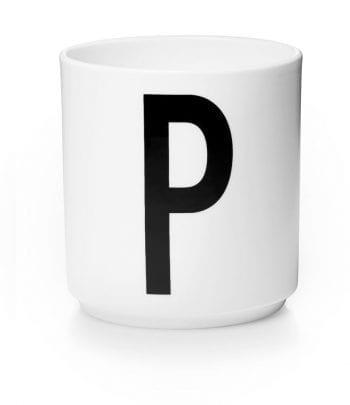p low 350x405 - כוס פורצלן P