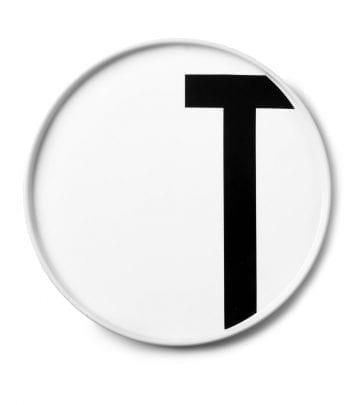 צלחת פורצלן T