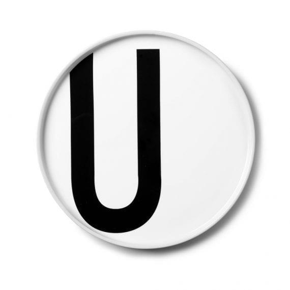 צלחת פורצלן U