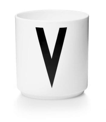 כוס פורצלן V