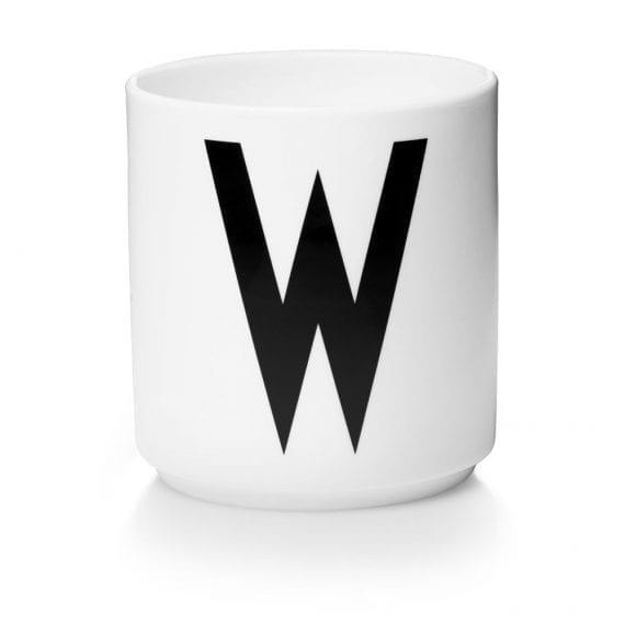 כוס פורצלן W