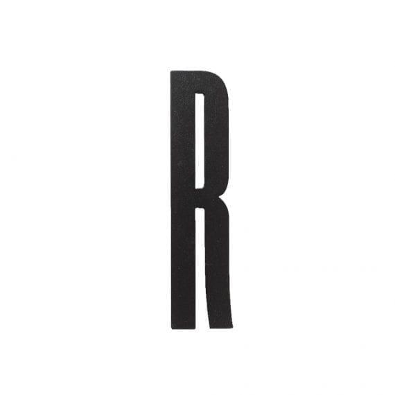 אות R עץ שחור