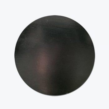 מכסה עץ שחור לכוס פורצלן