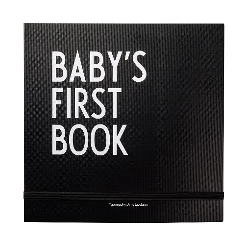 הספר הראשון עבור התינוק, שחור