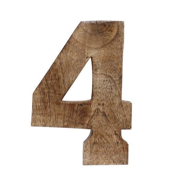 מספר 4 מעץ מנגו