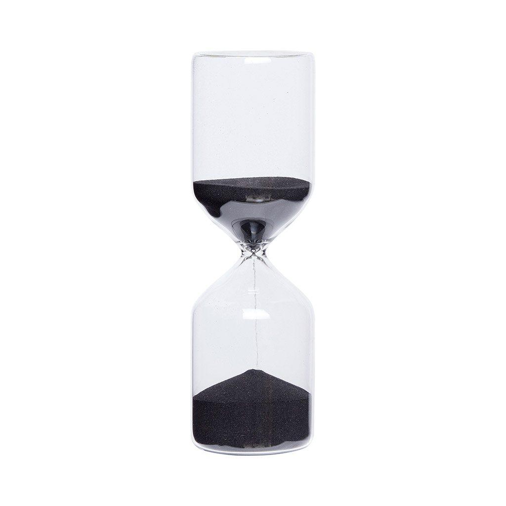 שעון חול שחור 60 דקות