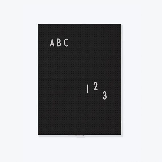 לוח נעיצה A4 שחור
