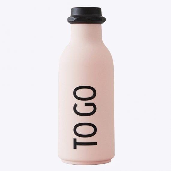 בקבוק מים  TO GO ורוד