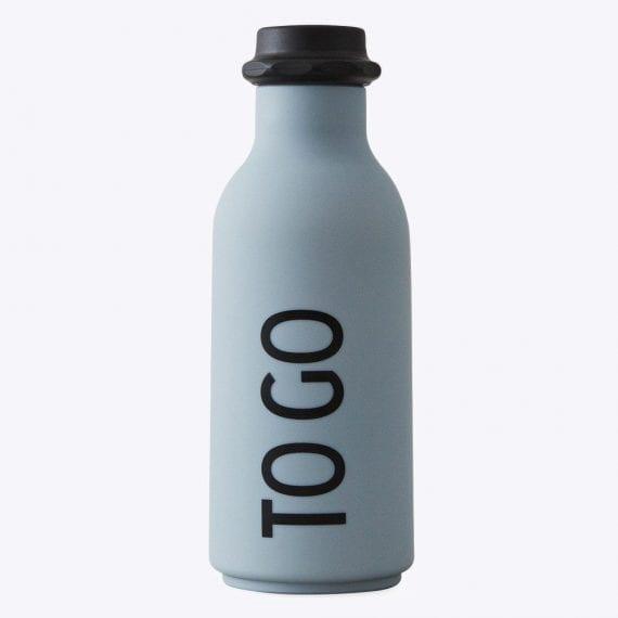 בקבוק מים  TO GO אפור