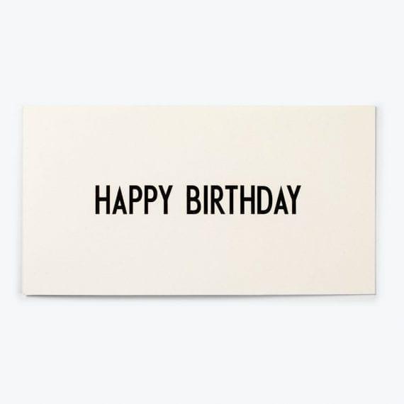 תמה שופ כרטיסי ברכה מעוצבים - happy birthday