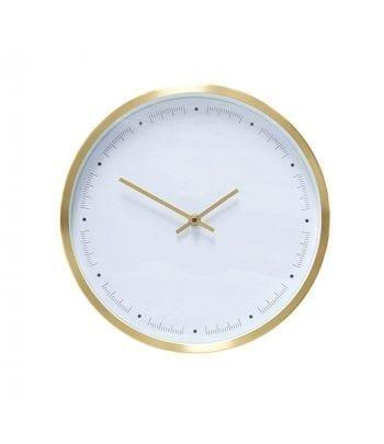 שעון לבן \ פליז