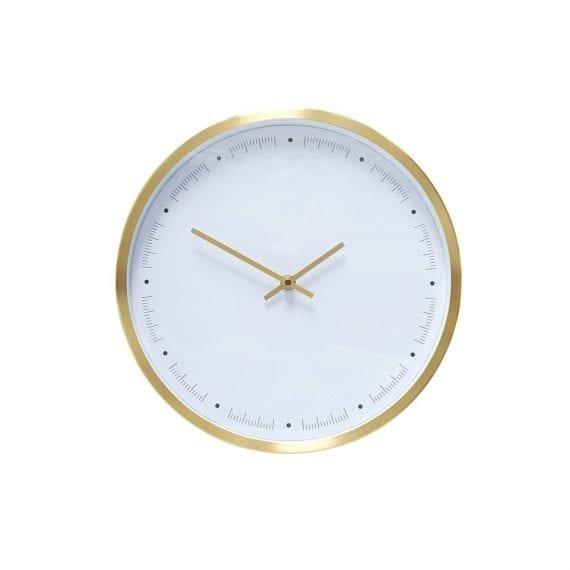 שעון לבן  פליז