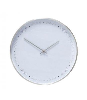 שעון לבן \ מטאלי