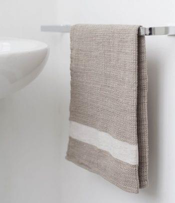 טקסטיל מעוצב לבית - מגבת ידיים פיקה חאקי
