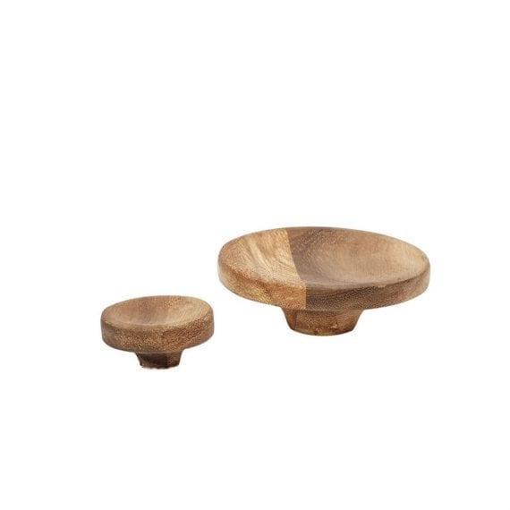 סט שני מתלי עץ