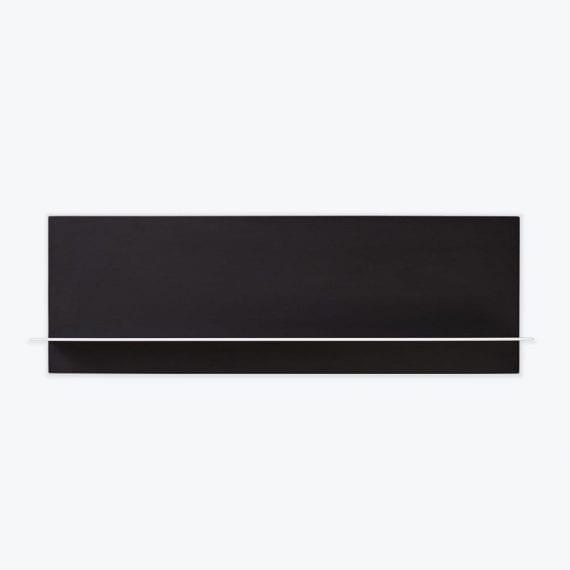 תמה שופ - מדפים עמוצבים - מדף יחיד שחור