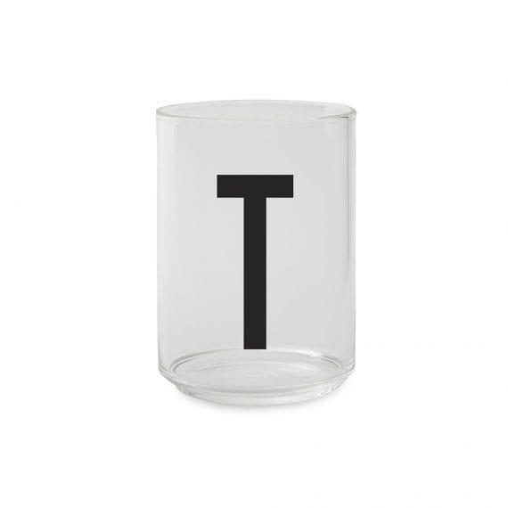 כוס זכוכית  T