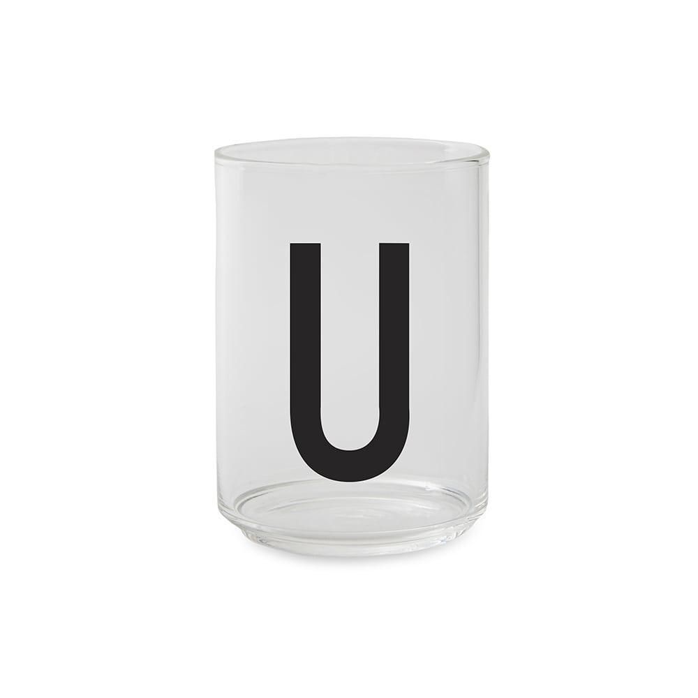 כוס זכוכית  U