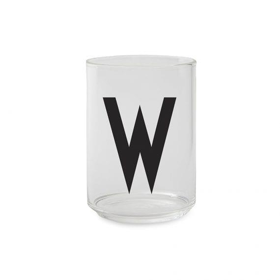 כוס זכוכית  W
