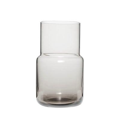 אגרטל זכוכית אפור