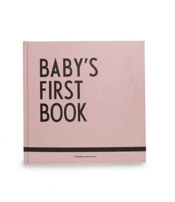 הספר הראשון עבור התינוק, ורוד
