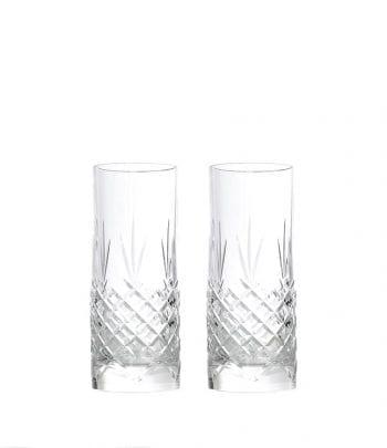 זוג כוסות זכוכית   high ball