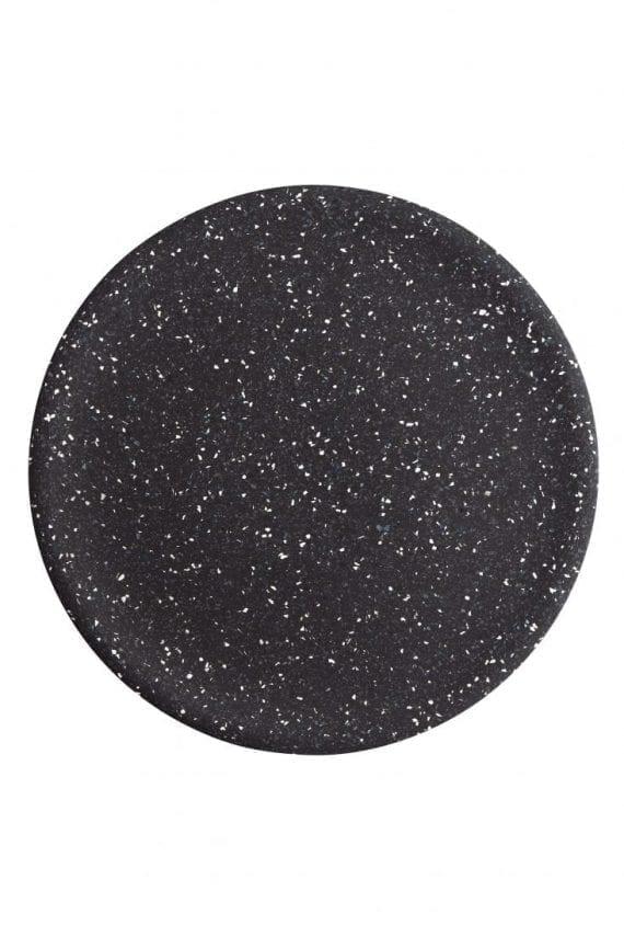 מגש טרצו שחור עגול