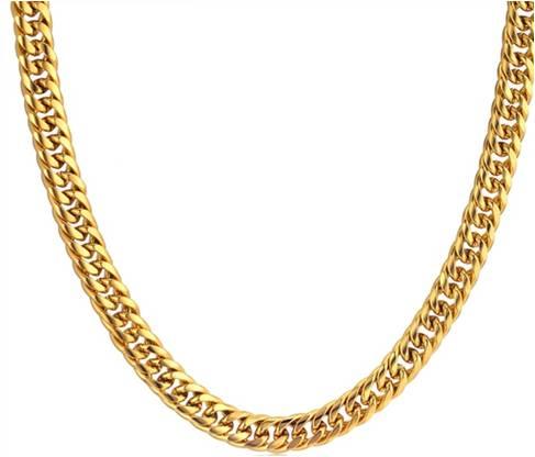 tema sho - שרשרת גורמט זהב צפוף