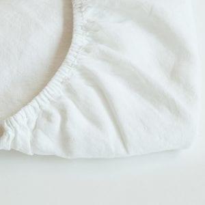 סדין גומי 160 לבן