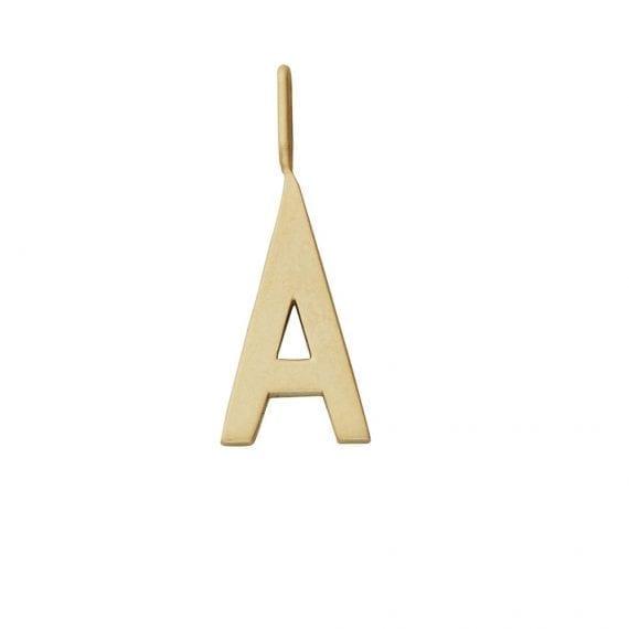 תמה שופ - תליון זהב A