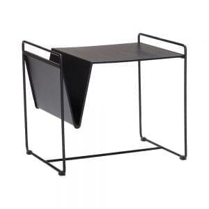 שולחן עם מעמד מגזינים