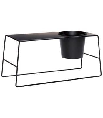 שולחן מעוצב משולב לגינה