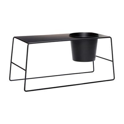 שולחן עם עציץ משולב