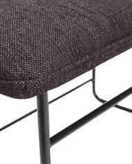 ספסל מעוצב עם כרית