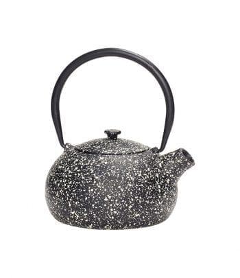 קנקן תה ברזל, שחור ולבן