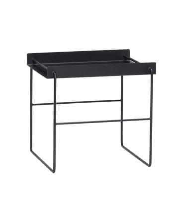 שולחן מתכת שחור