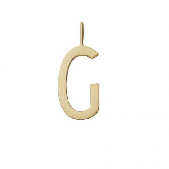 tema shop - תליון זהב אות G