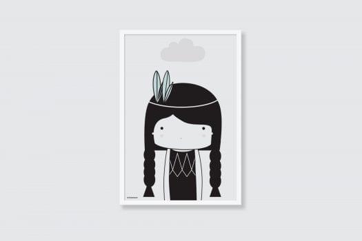 indian girl frame 525x350 - Tema Blog - רעיונות לעיצוב הבית