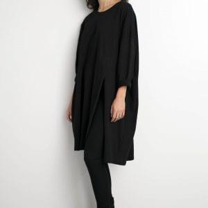 שמלת אסתר שחורה one size