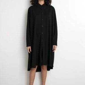 שמלת רוז שריג שחור