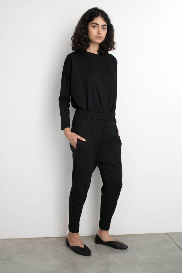 מכנס טוליפ שחור one size
