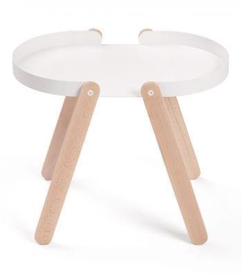 שולחן טיפסי לבן