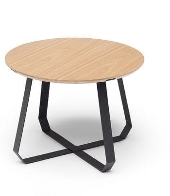 שולחן שונן נמוך טבעי  שחור