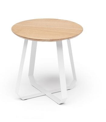 שולחן שונן גבוה טבעי  לבן