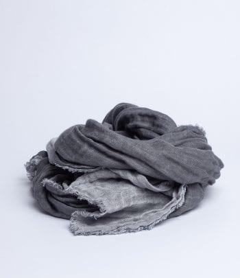 צעיף פשתן חול 70/200