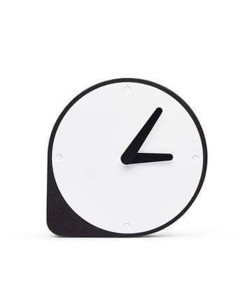 Clork black 350x405 - שעון שעם שחור ומתכת
