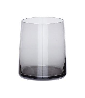 480305b 350x405 - כוס זכוכית אפורה